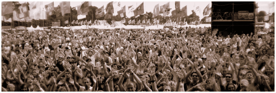THE WOMAD Crowds