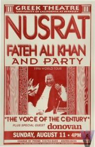 nusrat online , UC Berkeley 1996 , Nusrat Fateh Ali Khan