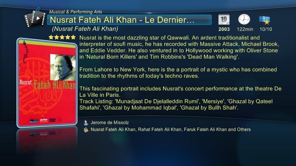 Nusrat Fateh Ali Khan – Le Dernier Prophete