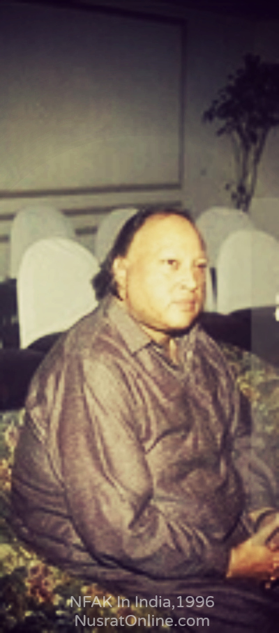 Nusrat Fateh Ali Khan In India 1996