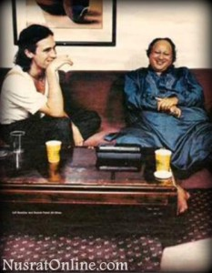 Nusrat Fateh Ali Khan With Jeff Buckley, 1996