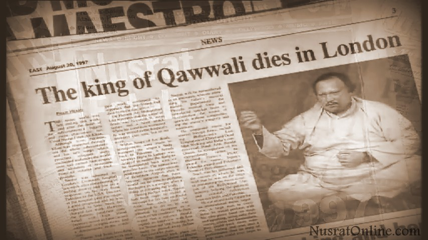 Nusrat Fateh Ali Khan Death Photos Nusrat Fateh Ali Khan's Death