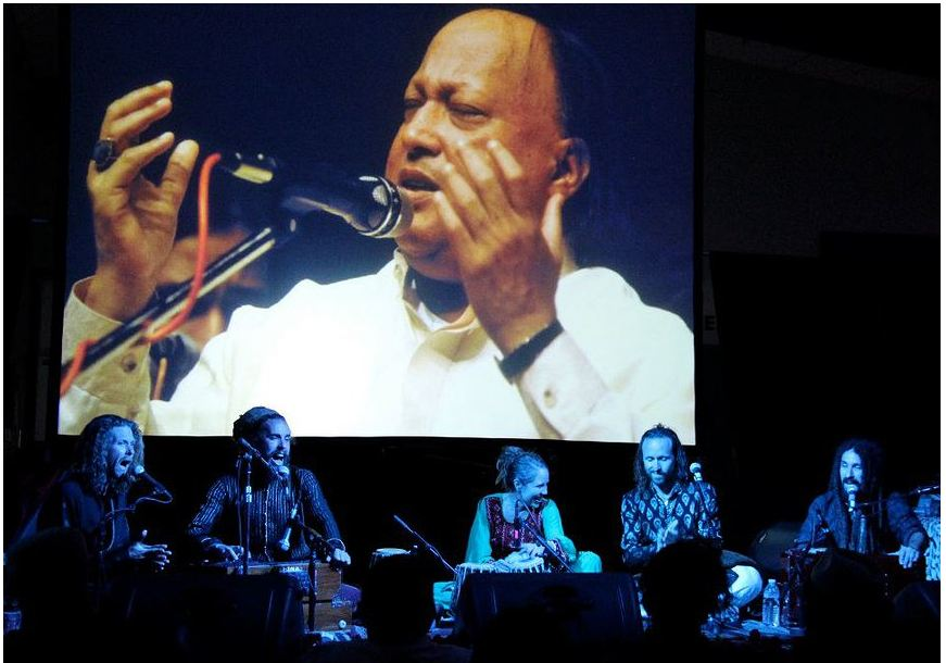 Fanna-fi-Allah giving Musical Tribute to Nusrat Fateh Ali Khan at Higher Vision Fest 2012, USA