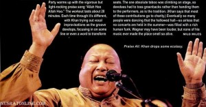 Nusrat Fateh Ali Khan Live at Symphony Hall, Boston, Oct 6, 1995 - 2