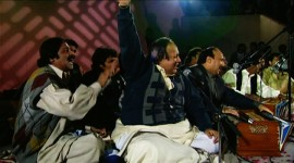 Nusrat Fateh Ali Khan Performing In Pakistan, 1995