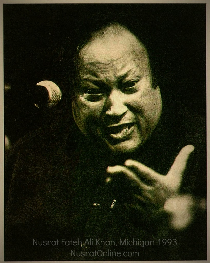 UMS Concert Program, November 29, 1993: University Musical Society -- Nusrat Fateh Ali Kahn