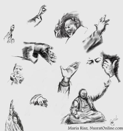 Expressions , Nusrat Fateh Ali Khan