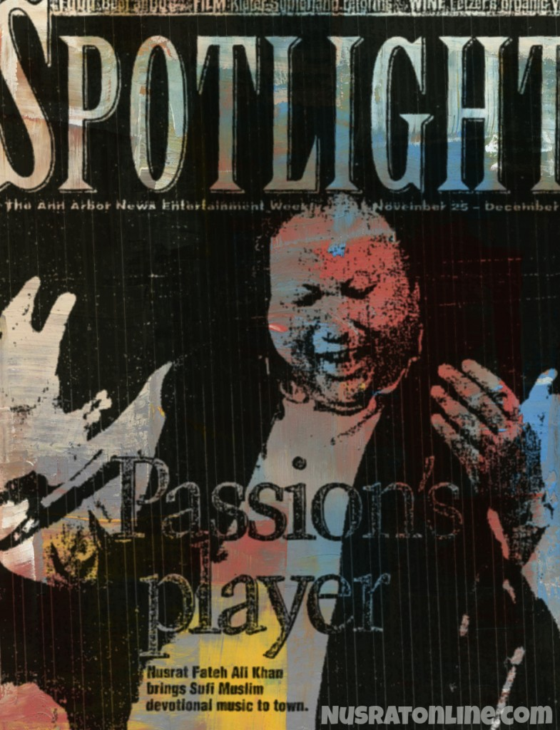 Passion's Player Nusrat Fateh Ali Khan