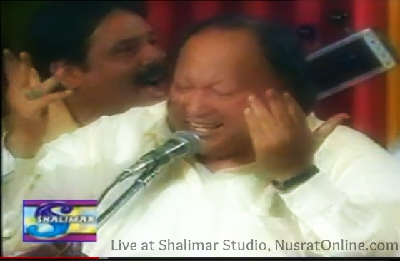 Nusrat Fateh Ali Khan With his Ghazals at Shalimar
