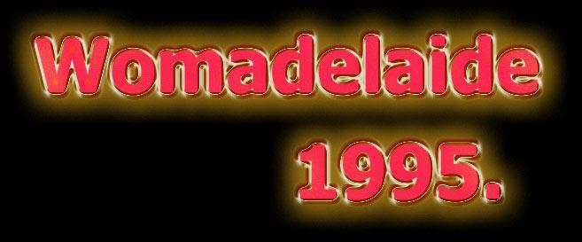 Womadelaide festival 1995