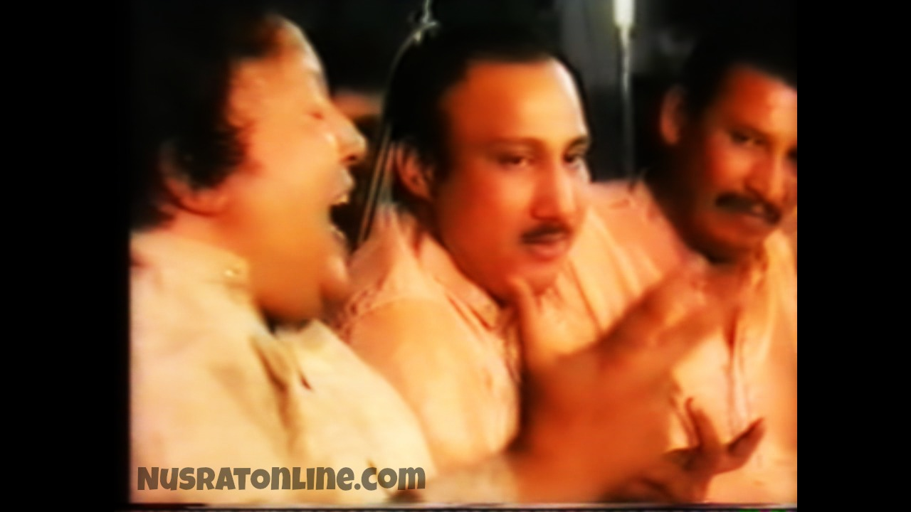 Nusrat Fateh Ali Khan Live At Aston University July 1988 Full Concert HQ - NusratOnline.com