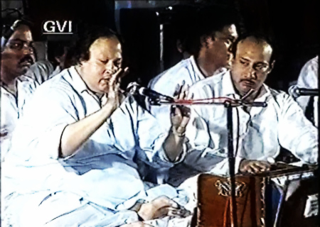 in golden night nusrat fateh ali khan