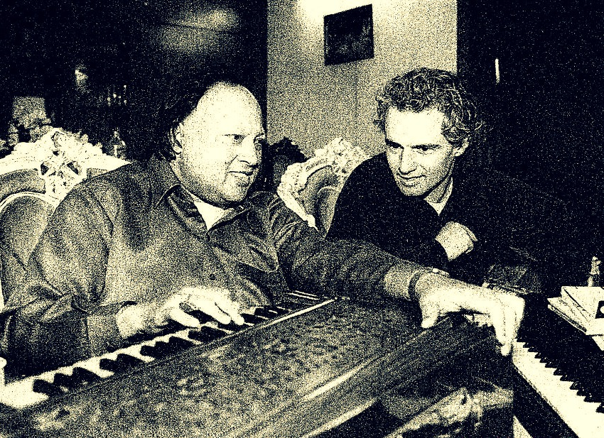 Nusrat Fateh Ali Khan with Michael Brook